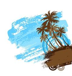 beach 01 01 vector image