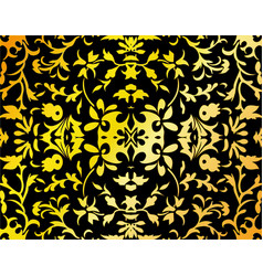 abstract damask background vector image