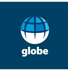 Abstract logo globe vector