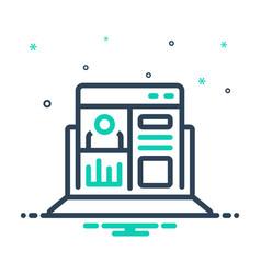 Admin panel vector