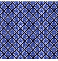 Batik blue tones texture and background good for vector