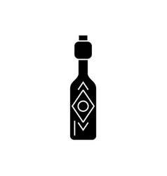 olive oil - vinegar icon vector image