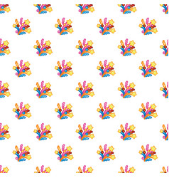 Pattern colorful festive flapper and fireworks for vector