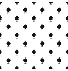 quince pattern seamless vector image