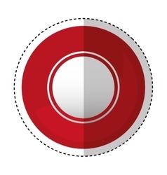 Coin casino isolated icon vector