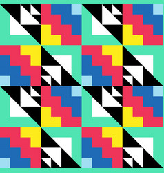 Color repeating pattern abstract decorative vector