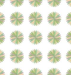 Flower seamless pattern decorative design element vector image