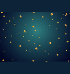 gold star background vector image