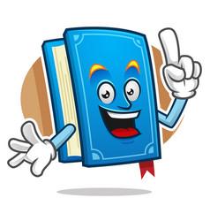 Got an idea book mascot book character book vector
