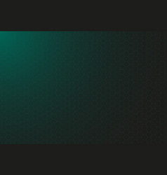 hud dark green background with thin hexagon grid vector image