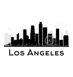 Los Angeles silhouette vector