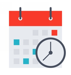 Meeting Deadlines Concept vector