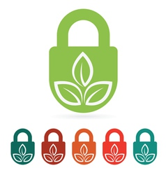 Protect environment web icon flat vector