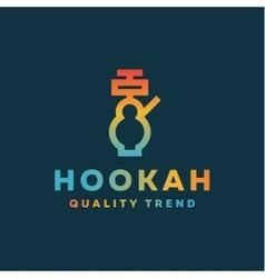 Shisha hookah for tobacco smoking and mixtures vector image