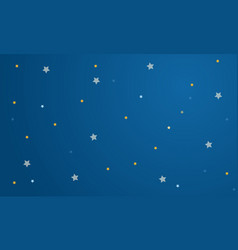Sky with star background collection vector