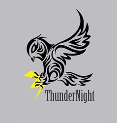 Thunder Night Logo vector