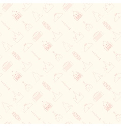 Moscow pattern thin vector image