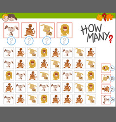 Count the dogs activity vector