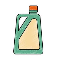 gallon plastic isolated icon vector image
