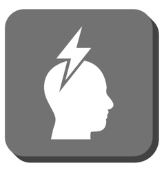 Headache Rounded Square Icon vector