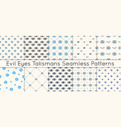 set 10 seamless patterns with various vector image