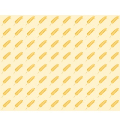 spikelet seamless pattern vector image