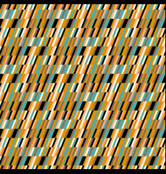 Abstract print in op art style vector