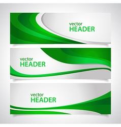 headers2 vector image
