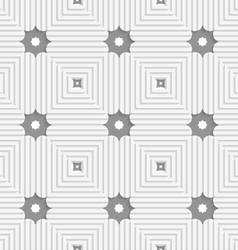 White triangles with lines and gray stars vector image vector image