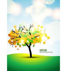 tree art vector image