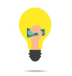 Idea Concept Make Money vector image