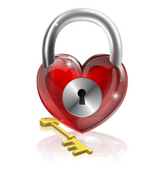 key to your heart vector image vector image