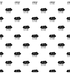 Lot of trees pattern simple style vector image