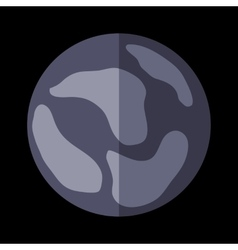 New planet sign vector