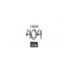 404 error web page design page not found vector