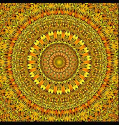 Abstract floral mandala background - circular vector
