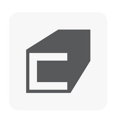 construction material icon vector image