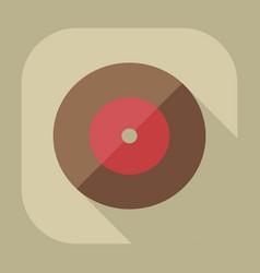 Flat modern design with shadow icon vinyl vector