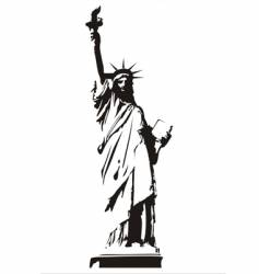 statue of liberty royalty free vector image vectorstock rh vectorstock com statue of liberty vector icon statue of liberty vector free download