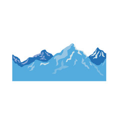 alpine mountain switzerland landscape travel image vector image vector image