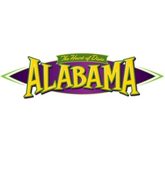 Alabama The Heart of Dixie vector image