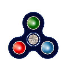 spinner isolated on white background vector image vector image