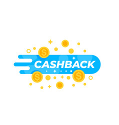 cashback offer money refund vector image