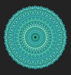 Floral ornamental mandala graphic - design element vector