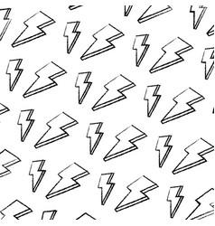 grunge nice light thunder art background vector image