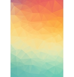 Abstract natural polygonal background Smooth vector image vector image