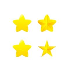 variations of star award vector image vector image
