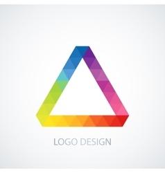 logo Triangle vector image vector image