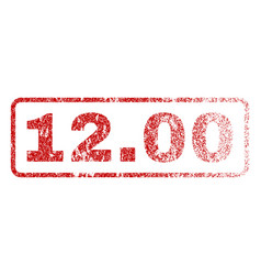 1200 rubber stamp vector image
