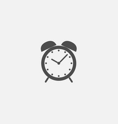 clock symbol flat icon for web in trendy flat vector image